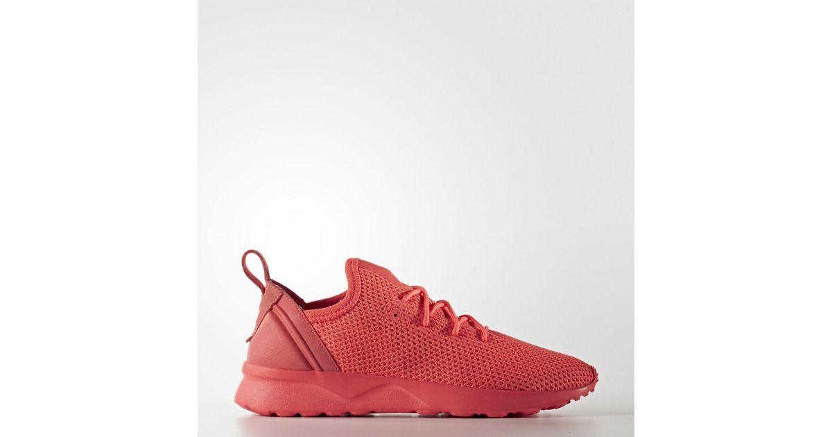 Lyst Adidas Originali Zx Flusso Avanzata Virtù Sock W In Rosso