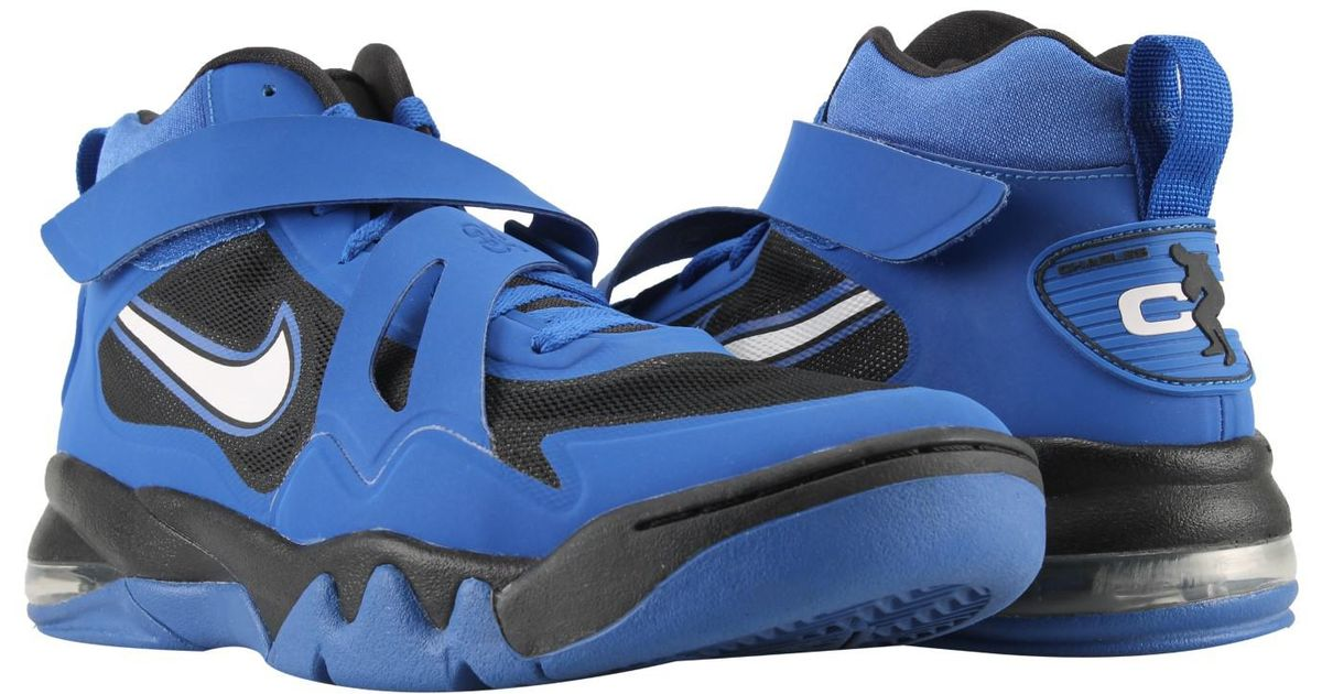 Lyst - Nike Air Force Max Cb 2 Hyperfuse Basketball Shoes in Blue for Men c99359aa4