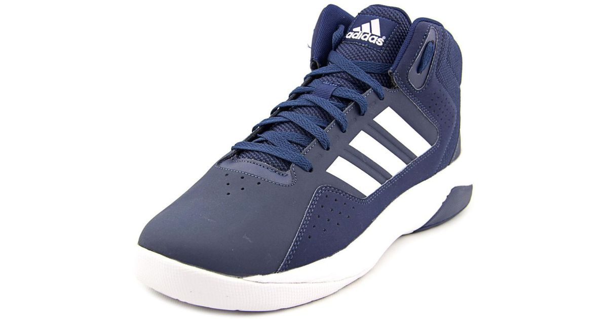 2af483b2e09 adidas Cloudfoam Ilation Mid Blue Basketball Shoe in Blue for Men - Lyst
