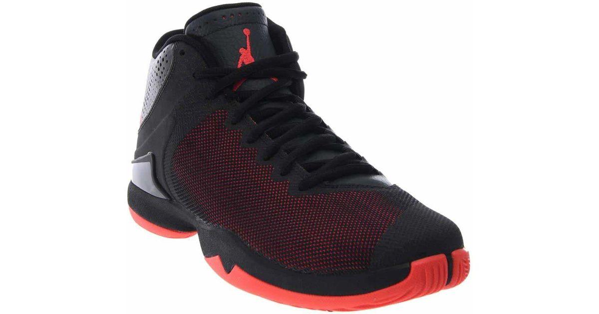 eea35475972 Lyst - Nike Jordan Jordan Super.fly 4 Po Basketball Shoes in Black for Men