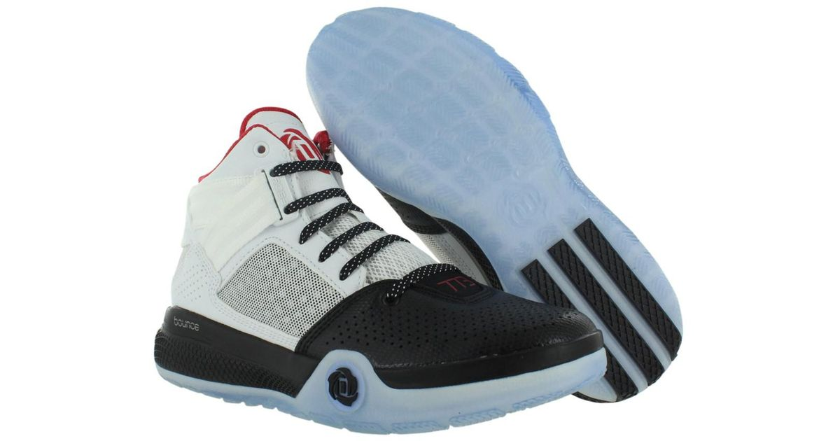 hot sale online c05ff e78eb Lyst - Adidas D Rose 773 Basketball Juniors Shoes in Black f
