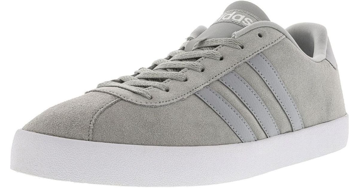 pretty nice 1d1c6 d3e78 ... Men fc9e1 shopping Lyst - Adidas Vlcourt Vulc Ankle-high Suede Running  Shoe - 11m in Gray ...