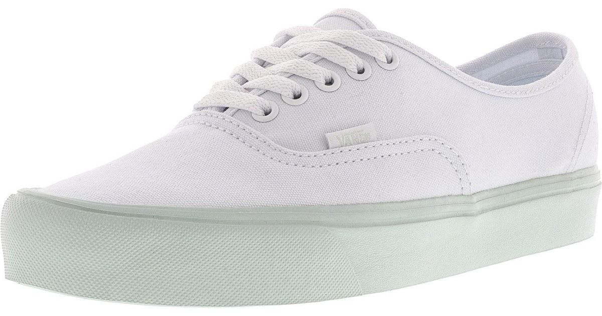 fca786112a Lyst - Vans Authentic Lite Pop Pastel Ankle-high Canvas Skateboarding Shoe  - 8.5m   7m in White for Men