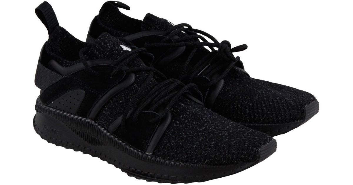 66f2005d14f Lyst - Puma Tsugi Blaze Evoknit Dark Shadow Athletic Training Shoes in Black  for Men
