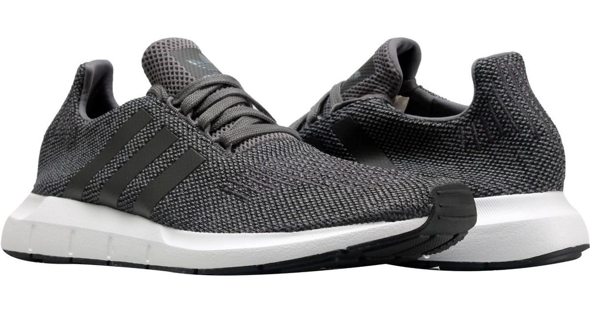 1126e2e50 Lyst - adidas Originals Swift Run Four black white Running Shoes Cg4116 in  Gray for Men
