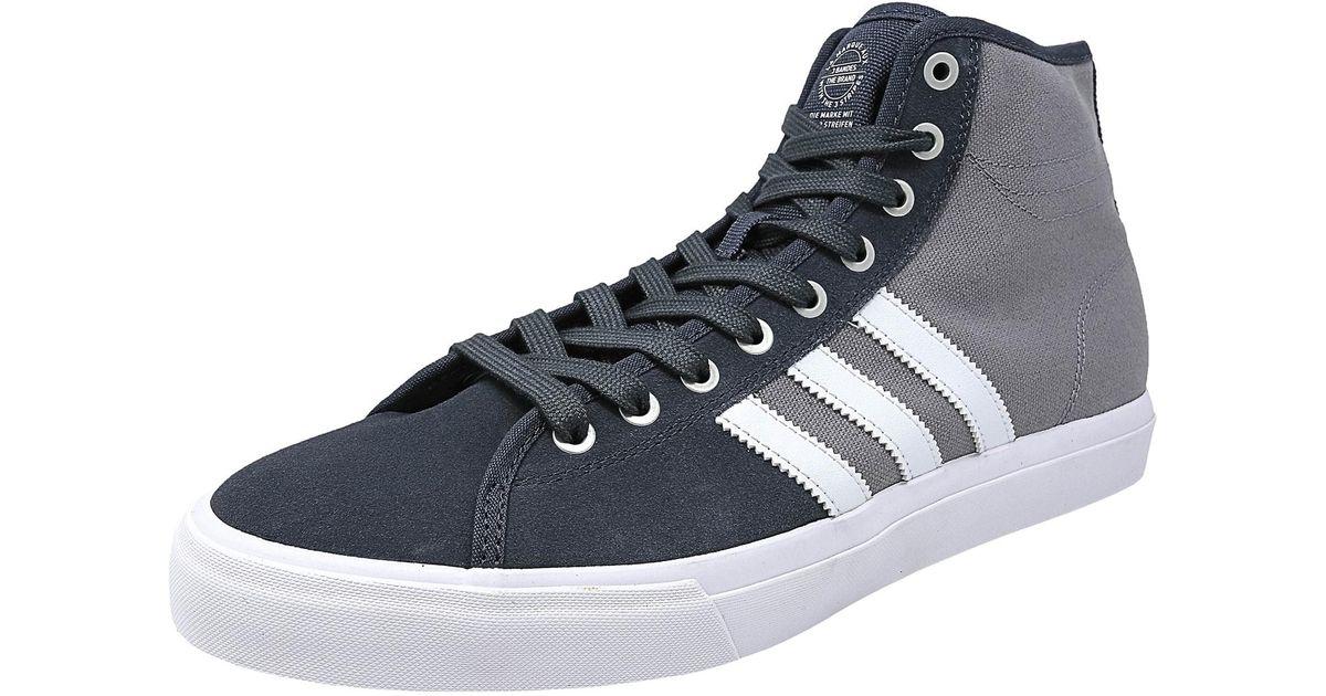 Lyst Adidas Matchcourt Alto Rx Onix / Calzature Bianco Grigio Caviglia