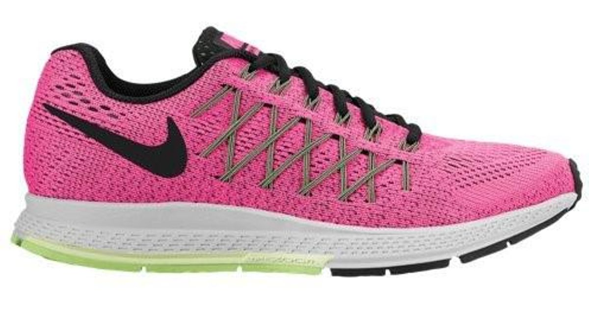 online retailer 54f76 aa313 Lyst - Nike Womens Air Zoom Pegasus 32 Pink Pow blk brly Vlt ghst Grn  Running Shoe (12) in Pink