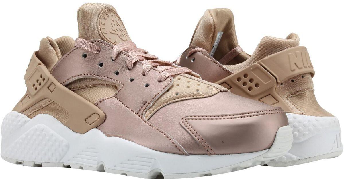 edab3cd904a4 Lyst - Nike Air Huarache Run Prm Txt Rose Gold Running Shoes Aa0523-202 for  Men