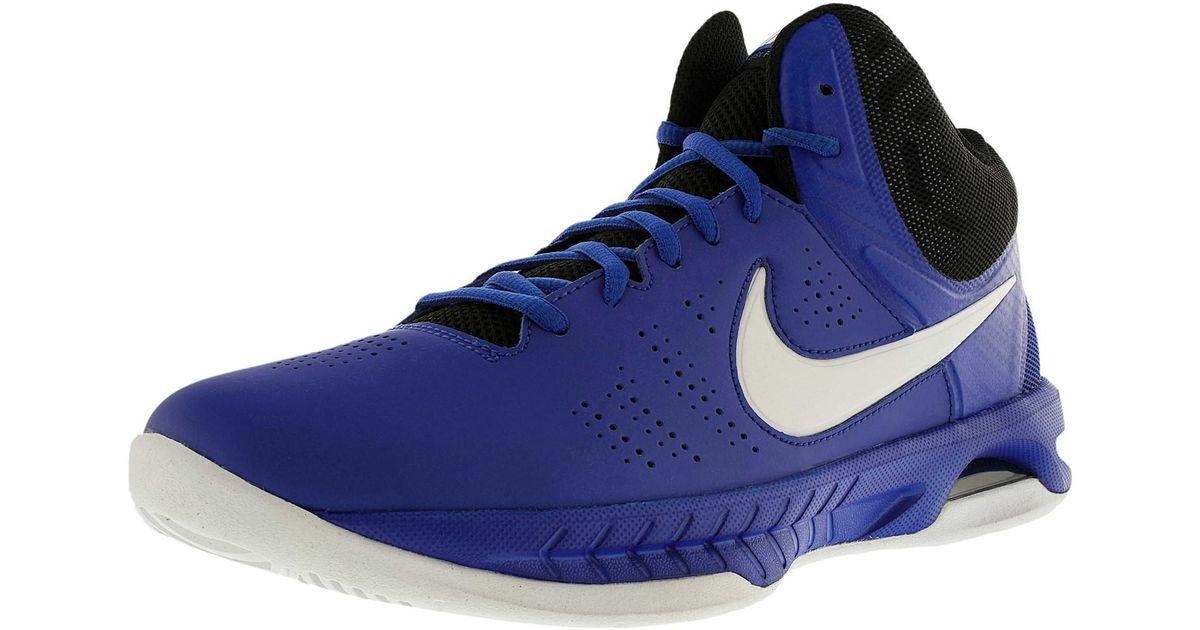 9258f62c2eb7d nike -Game-RoyalWhiteBlackPhoto-Blu-Air-Visi-Pro-Vi-Ankle-high-Mesh-Basketball-Shoe-95m.jpeg