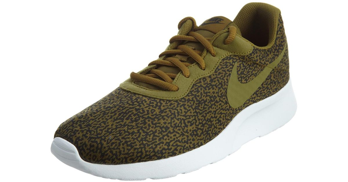 Lyst - Nike Tanjun Print Olive Flak/olv Flak/blk/white Running Shoe 8 Men  Us in Green for Men