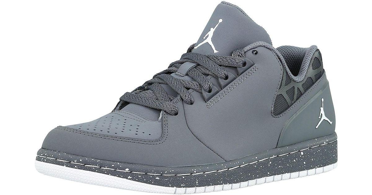on sale 1e3ad 84d81 Nike Jordan 1 Flight 3 Low Prem Ankle-high Leather Fashion Sneaker - 8m in  Gray for Men - Lyst