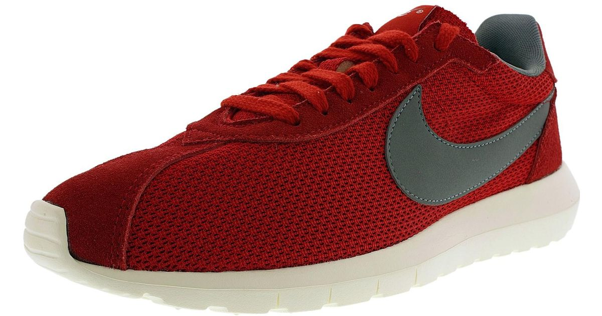 huge discount 5a4b7 4036c Nike Roshe Ld-1000 Qs Sport Red cool Grey sail volt Ankle-high Mesh Running  Shoe in Red for Men - Lyst