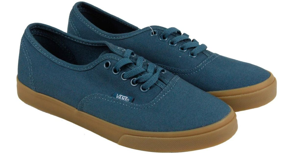 6b8bf8562c7 Lyst - Vans Authentic Lo Pro Atlantic Deep Mens Lace Up Sneakers in Blue  for Men