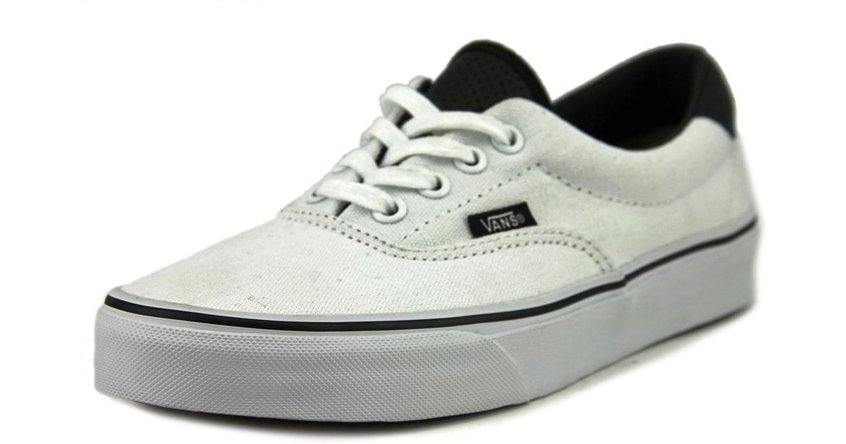 73573bdb04 Lyst - Vans Era 59 Women Us 6.5 White Sneakers in White