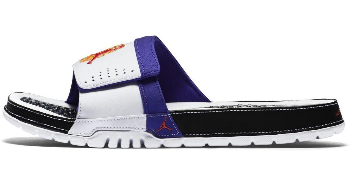 buy popular 987f4 ba9ee Nike Mens Air Jordan Hydro Viii Retro 8 White Infrared 23 Black Bright  Concord 385... (white infrrd 23 blck brght Cncrd in White for Men - Lyst
