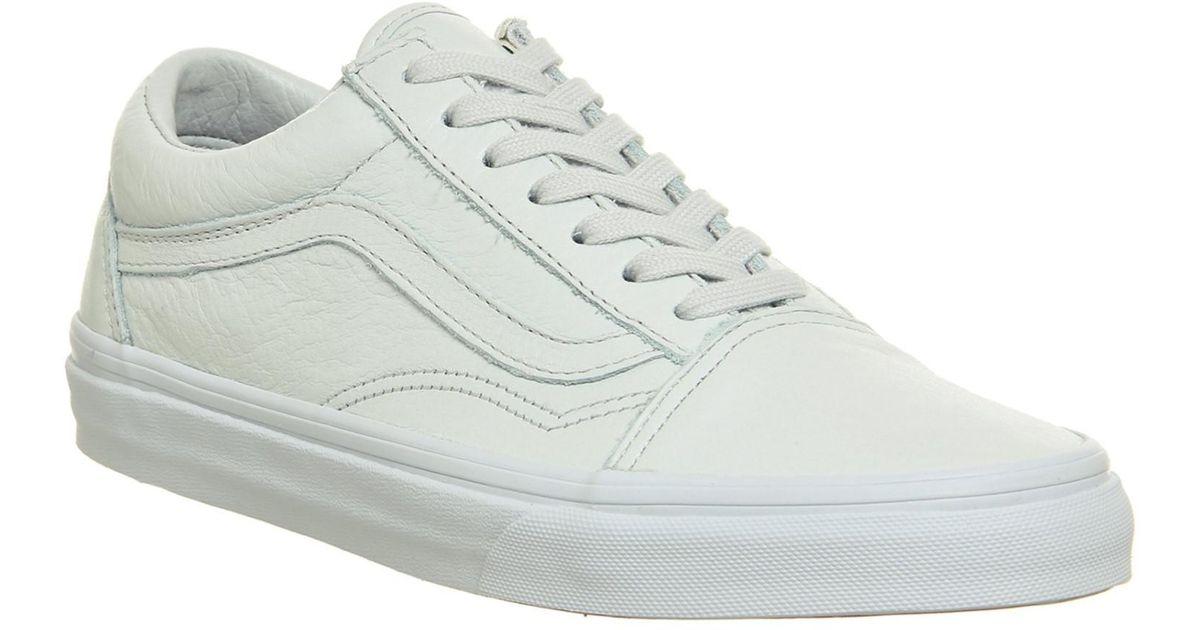 Old Skate 9 Vans Unisex SkoolleatherMonoice Lyst Shoe Flow 0yv8mNwPnO