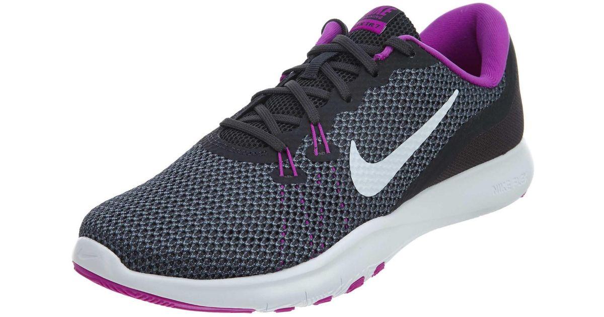 a78da7dd32ff Lyst - Nike Flex Trainer 7 Anthracite white dark grey Training Shoe 6.5 Us  in Gray
