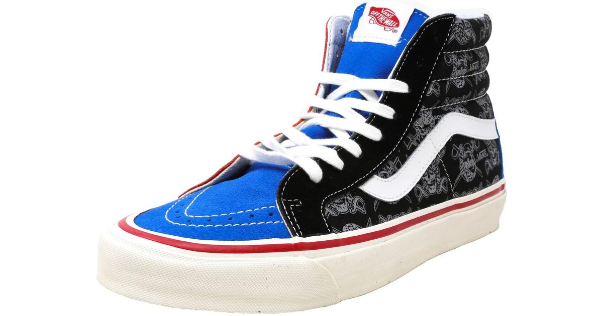 c0747064e5206c Lyst - Vans Sk8-hi Reissue Multi in Blue for Men