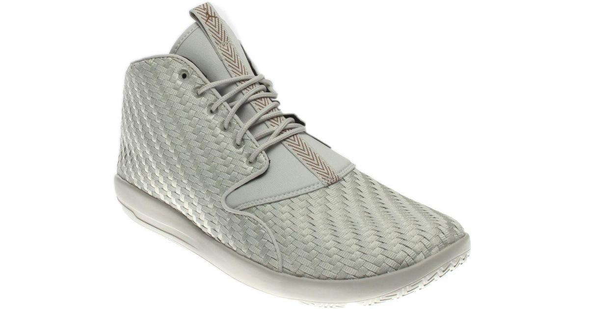 Nike Natural Air Jordan Eclipse Chukka Light Bonegolden Beige black 881453 015 for Men Lyst
