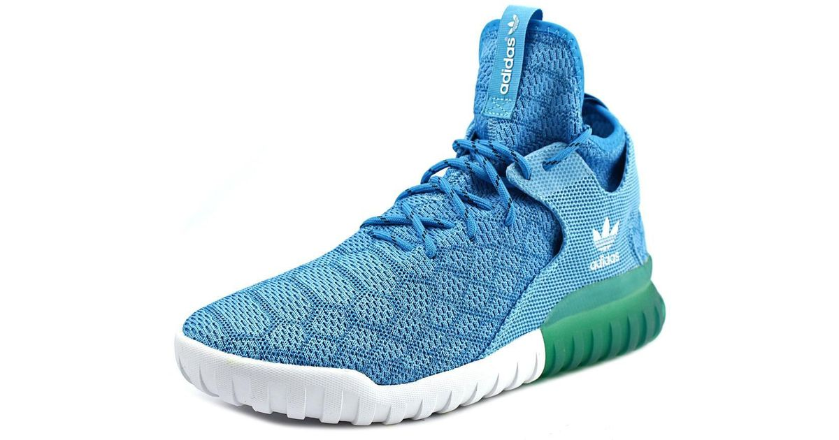 e70cea91a Lyst - adidas Tubular X Prime Knit Men Us 11.5 Blue Sneakers in Blue for Men