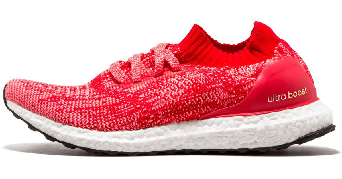 sports shoes 0536a 9e054 Lyst - adidas Ultraboost Uncaged W in Red - Save 31%