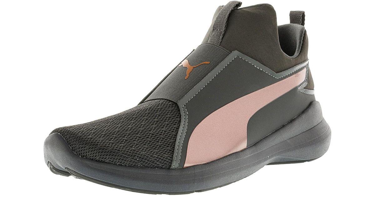 55086eb3ee8 Shoes High Black Mesh Training Rebel Tt Mid Ankle Puma Lyst In 6m aY8PwxFq