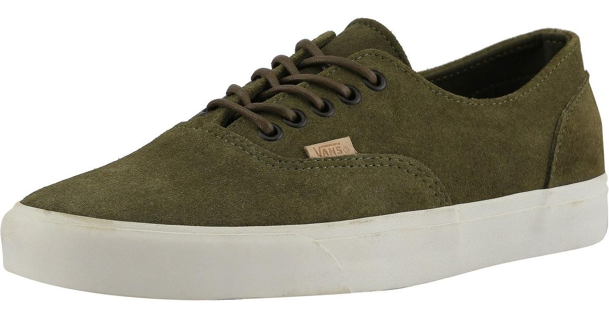 9029411756 Lyst - Vans Era Decon Ca Raw Suede Dark Olive   Cork Ankle-high Suede  Fashion Sneaker in Green for Men