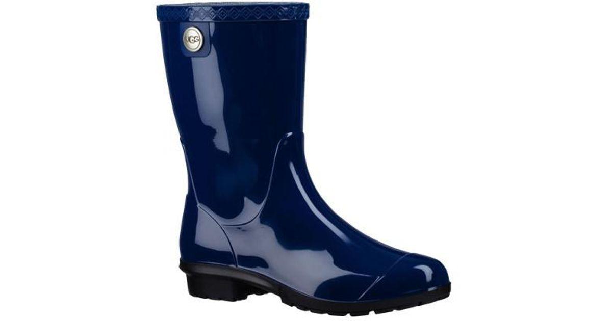 759a6c86432 Ugg | Blue Ugg Sienna Rain Boot for Men | Lyst