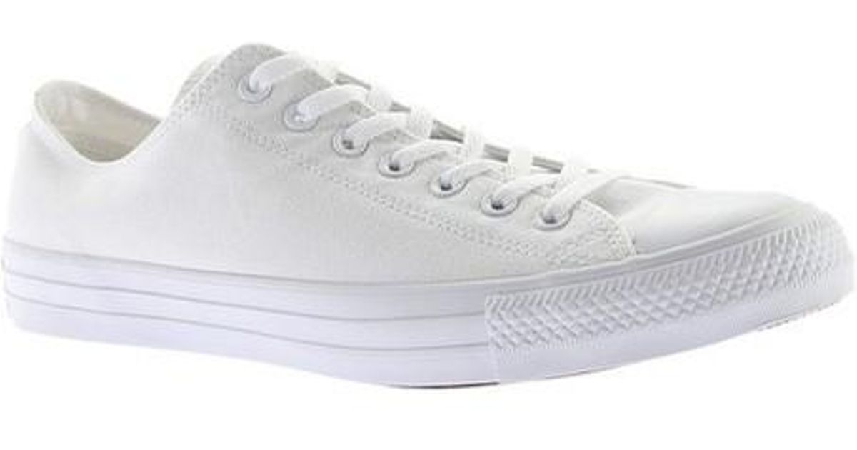 edb42846f83d Lyst - Converse Unisex Chuck Taylor All Star Leather Low Top in ...