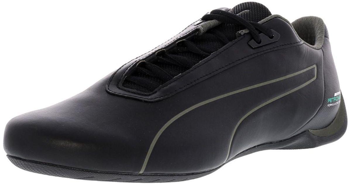 70d4b2ec00c7bc Lyst - Puma Mercedes Amg Petronas Future Cat Black   Dark Shadow Ankle-high  Leather Fashion Sneaker - 11.5m in Black for Men