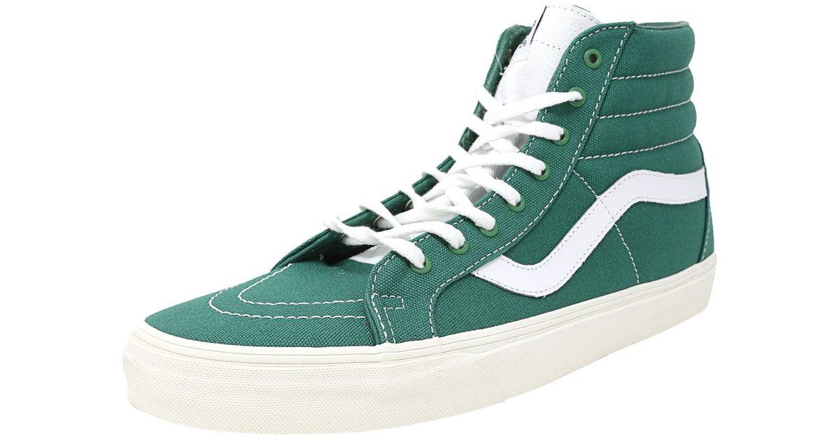 c8f34e59f5 Lyst - Vans Sk8-hi Reissue Men Us 11.5 Green Skate Shoe in Green for Men