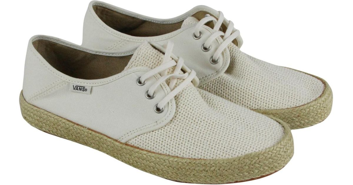 a104f4f653e1 Marshmallow In Esp Lyst Vans Tazie Men For White Sneakers Up Lace CntRq