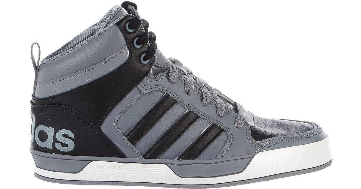 Adidas Gray Neo Raleigh 9tis Mid Sneaker for Men Lyst