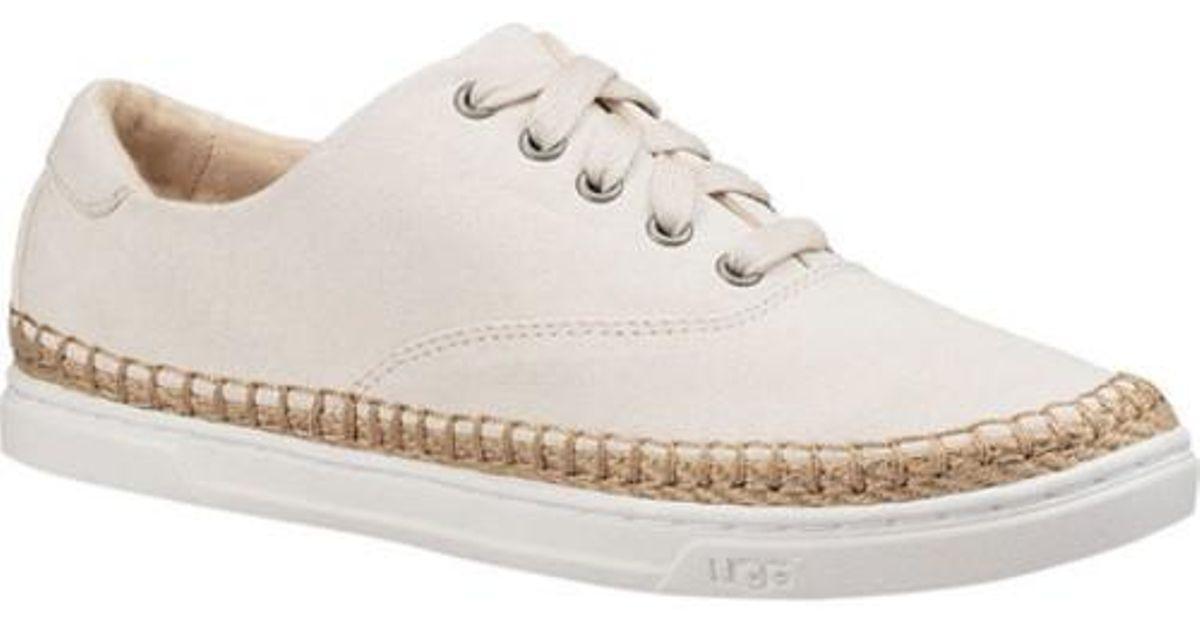 e1888149682 Ugg - White Ugg Eyan Ii Canvas Sneaker - Lyst