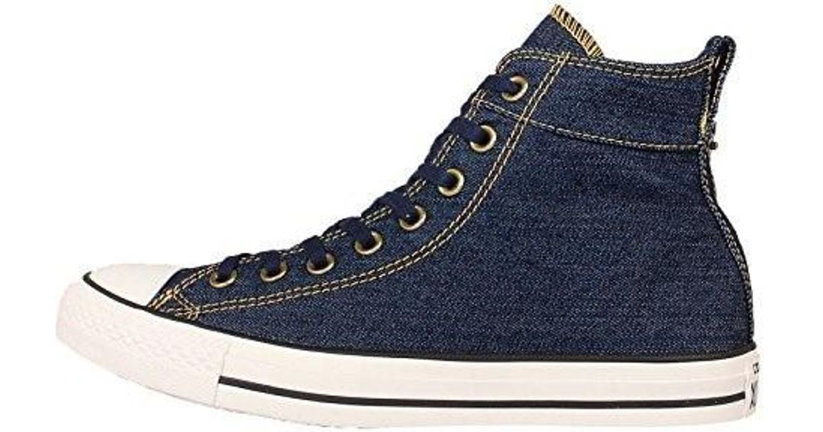 Lyst - Converse Chuck Taylor All Star Collar Break in Blue for Men 02fa9d670