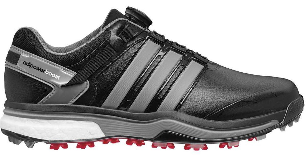 new styles a3cf2 ad6fb Lyst - Adidas Originals Adipower Boost Boa Golf Shoe Q44718 (10 2e(w) Us)  in Black for Men