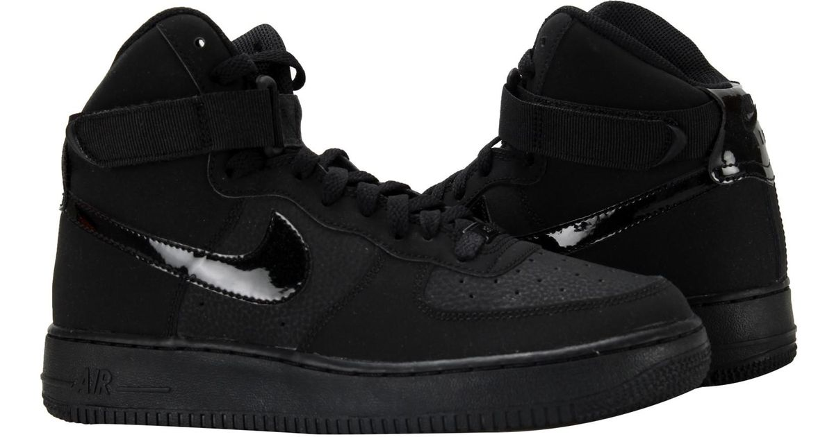 sale retailer c2d76 b4d0e Lyst - Nike Air Force 1 High (gs) Big Kids Basketball Shoes Size 7 in Black  for Men
