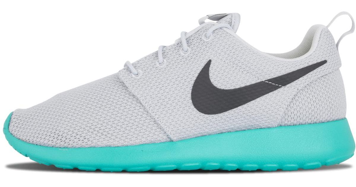07bca2c2d9d8f Lyst - Nike Roshe One Pure Platinum anthracite-calypso 511881-013 in Blue  for Men