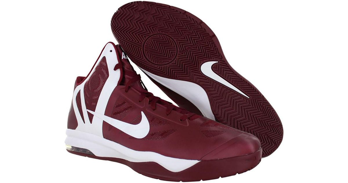 sports shoes 6dfce 2b6ea ... purchase in red for shoes max size men hyperaggressor 18 tb air lyst  nike f8ctcwqsz a4786