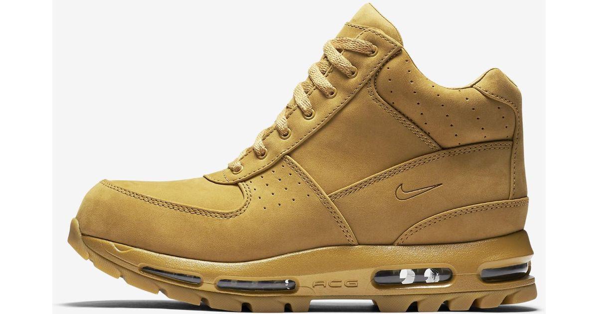 sports shoes cbd09 63e7e ... Lyst - Nike Air Max Goadome Qs Boots 886991-220 in Brown for Men ...