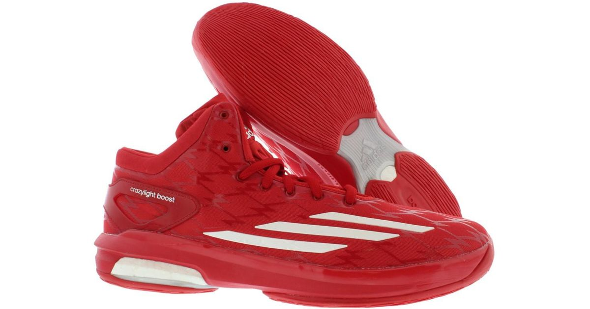 41f1a5a7fe94 Lyst - adidas As Crazylight Boost Noah Basketball Shoes in Red for Men