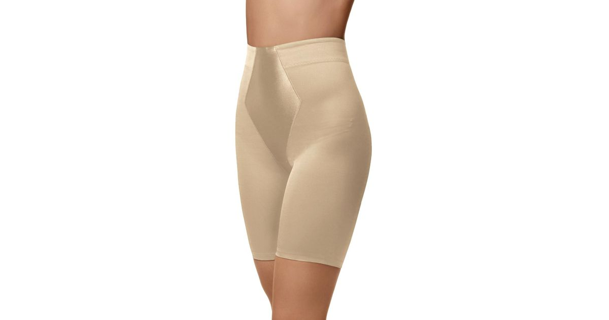 571bac47c5 Lyst - Maidenform Easy Up Easy Down Thigh Slimmer in Natural