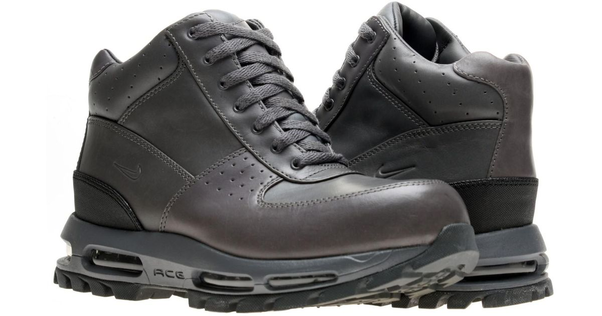 the best attitude 0c6a9 c091d Nike Air Max Goadome Acg Boots Size 10.5 in Gray for Men - Lyst