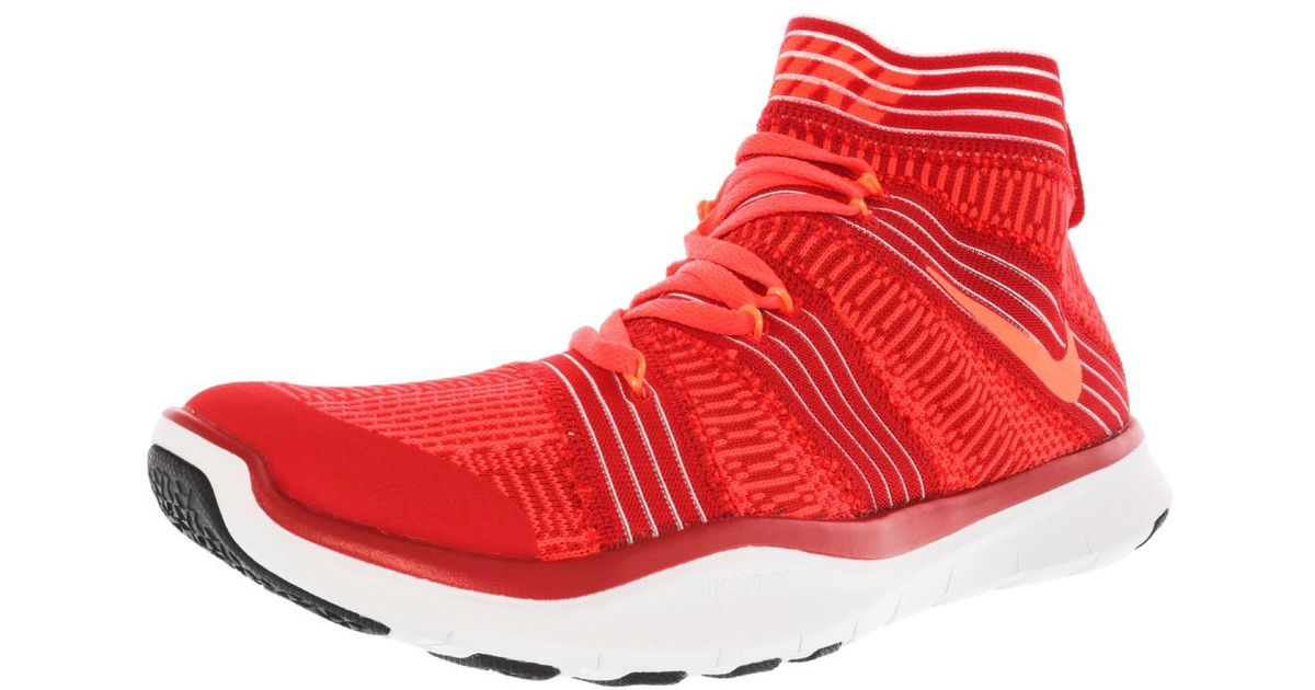 debef1e0f4e2 Lyst - Nike Free Train Virtue High-top Cross Trainer Shoe - 8m in Red for  Men