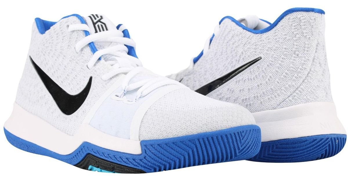 145c4a130c91ad Lyst - Nike Kyrie 3 (gs) Big Kids Basketball Shoes Size 6.5 in Blue for Men