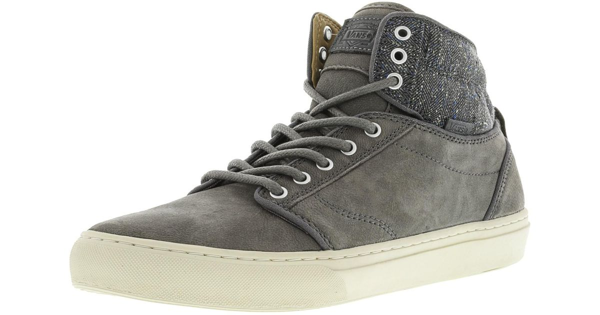 4a3a041526 Lyst - Vans Alomar Tweed Ankle-high Suede Skateboarding Shoe - 12m in Gray  for Men