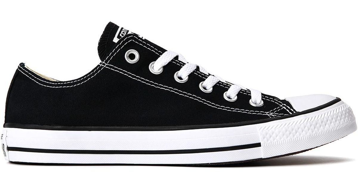 481f9481438529 Lyst - Converse Chuck Taylor All Star Low Top Sneakers M9166 10 in Black  for Men
