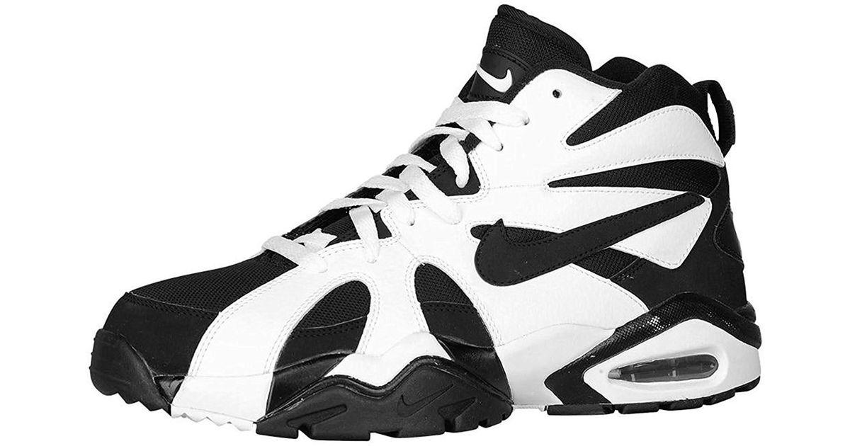 factory price b7aee 5562d Lyst - Nike Air Diamond Fury  96 Sneakers 724971 Sz 8.5 Black white in Black  for Men