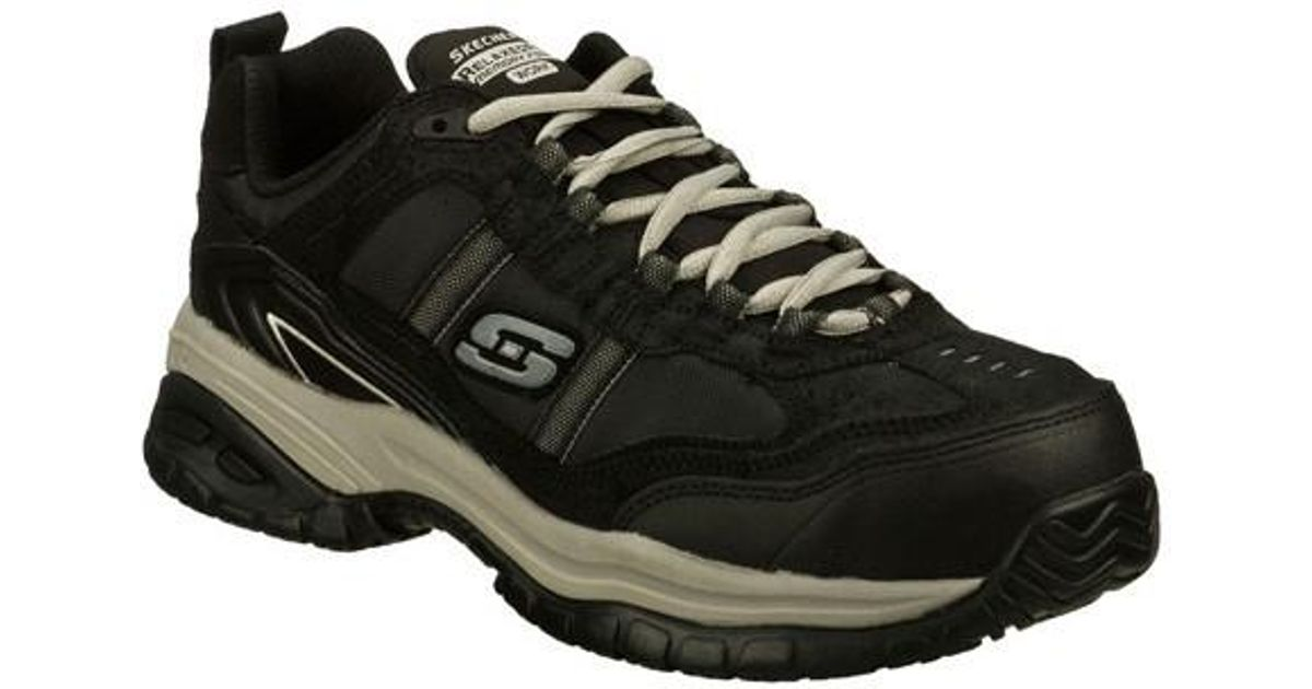 78ca9990f0e39 Skechers - Black Work Relaxed Fit Soft Stride Grinnell Ct Boot for Men -  Lyst