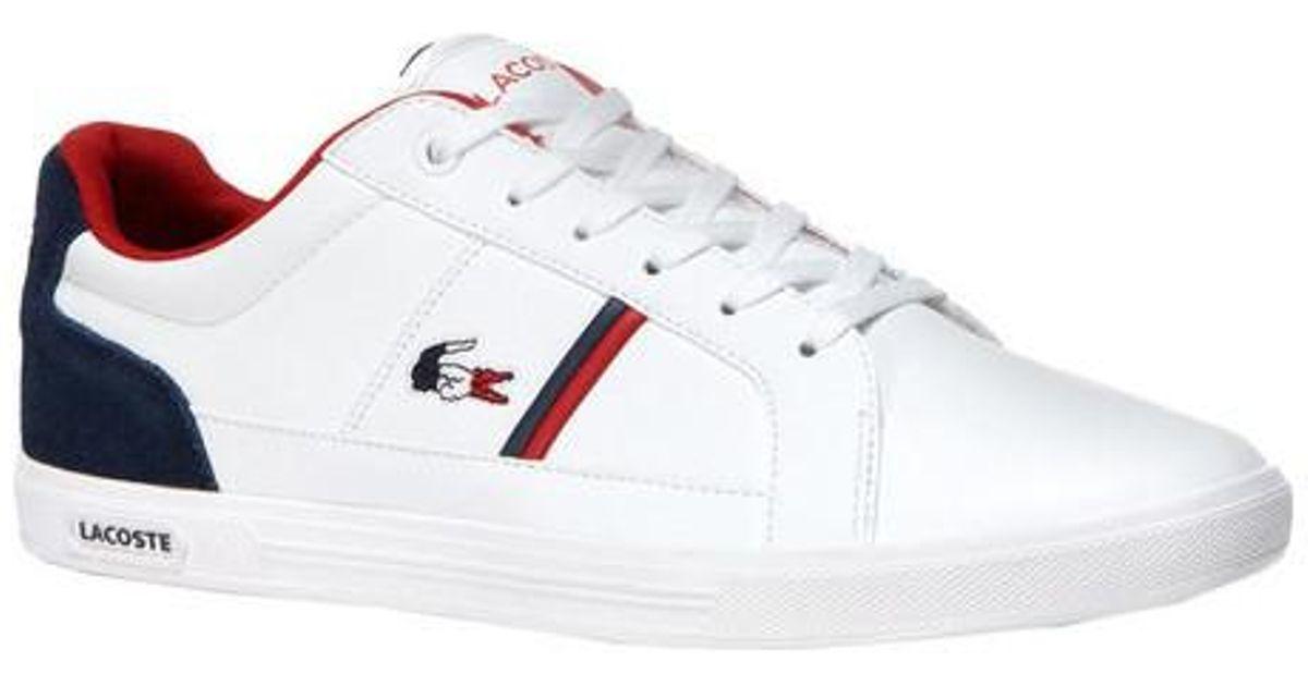 aa92ea8ff1a3e2 Lyst - Lacoste Europa 1 Leather Sneaker for Men